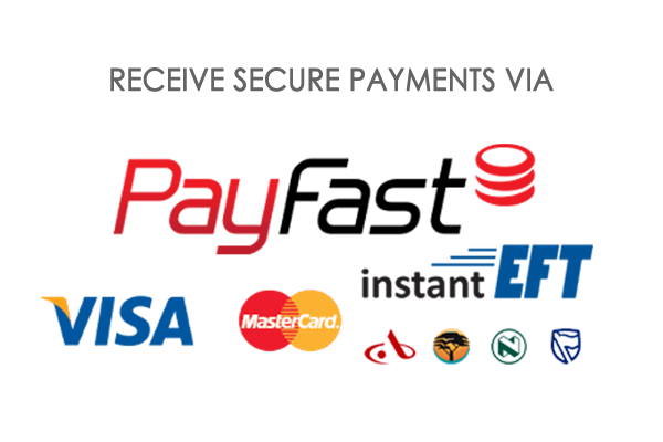 Receive Orders via Secure Payment Facilities